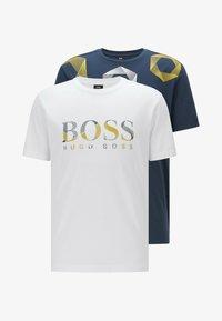 BOSS - 2-PACK - Basic T-shirt - patterned - 4