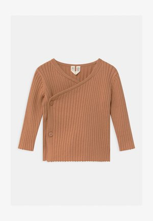 CARDIGAN - Cardigan - beige/brown