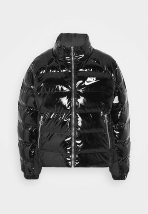 ICON CLASH - Winter jacket - black/white