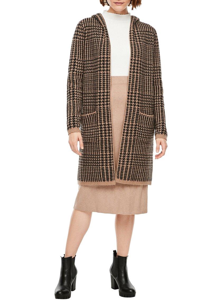 s.Oliver - Cardigan - brown knit