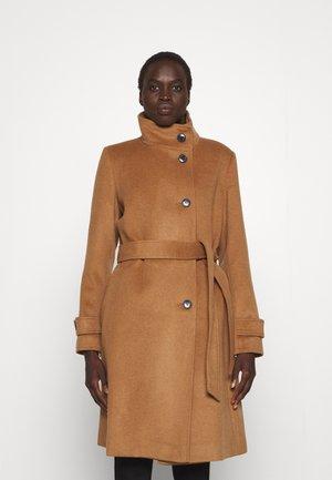 LINED COAT - Klasický kabát - new vicuna
