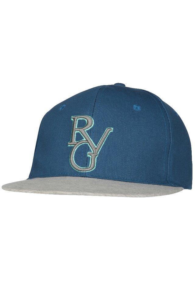 Cappellino - blau/jersey peak