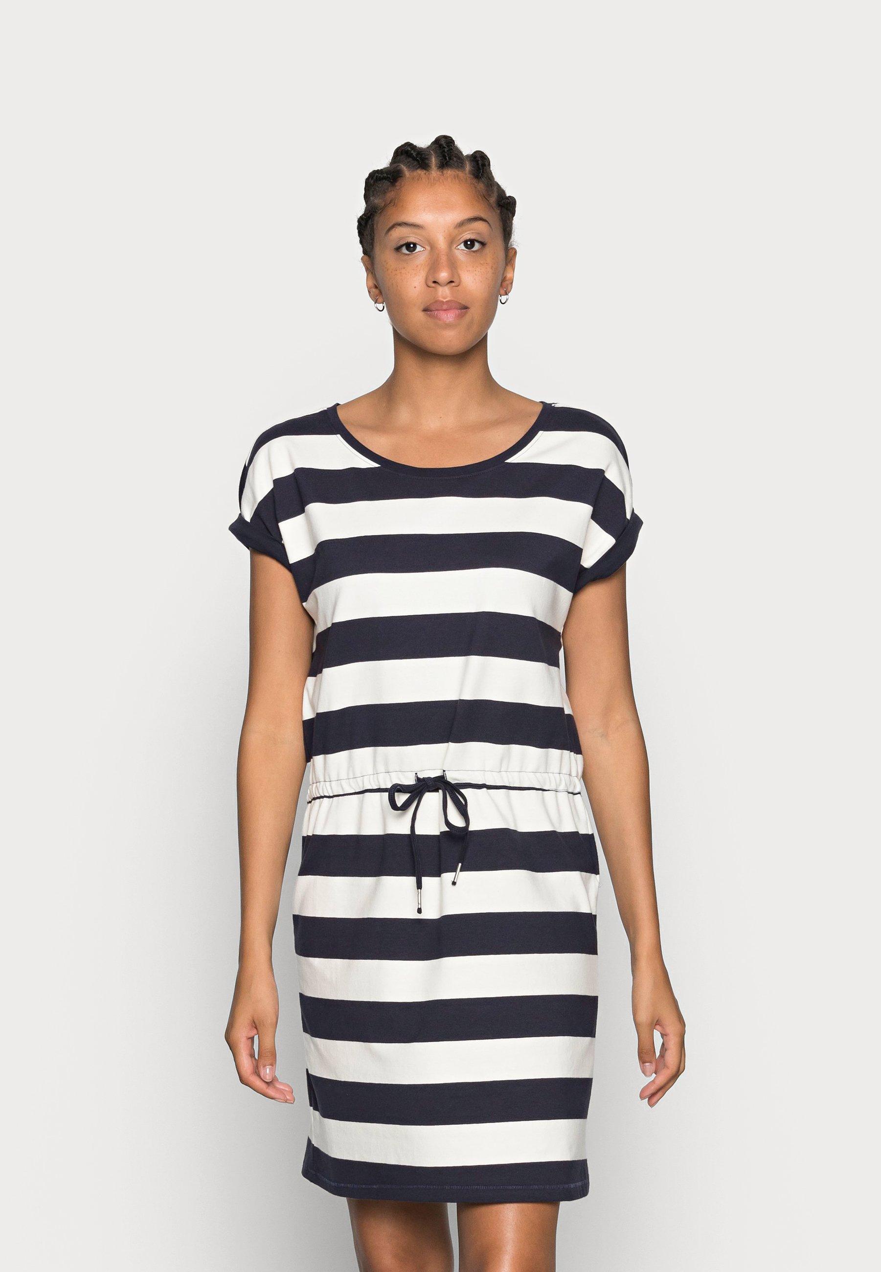 Damen ONLAMBER FOLD UP DRESS - Jerseykleid