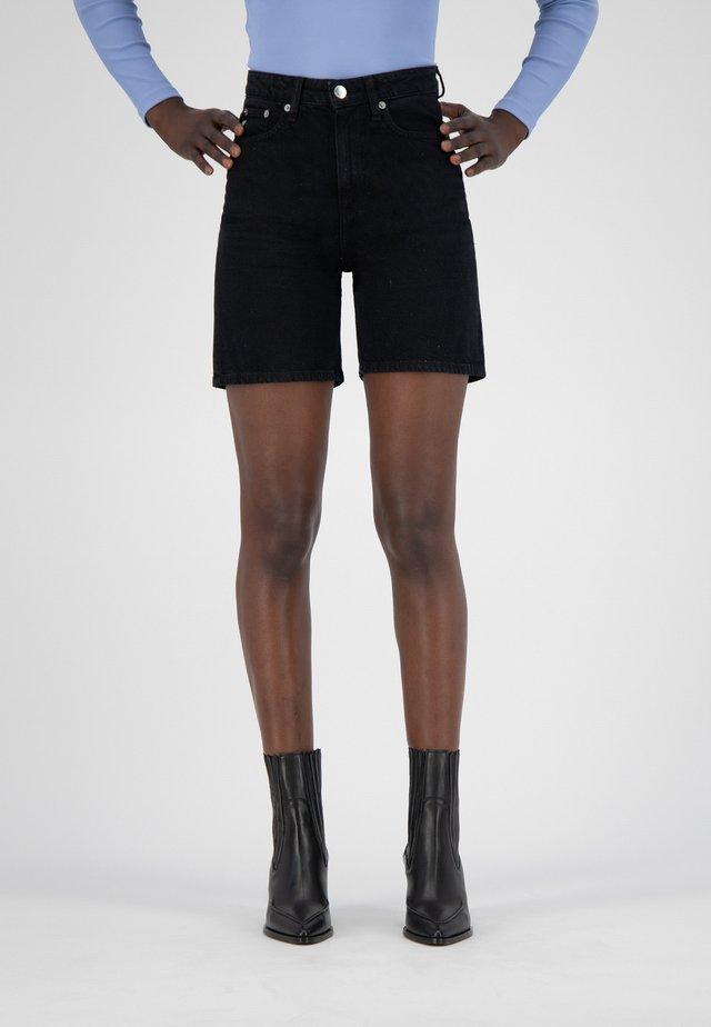 Jeansshort - dip black