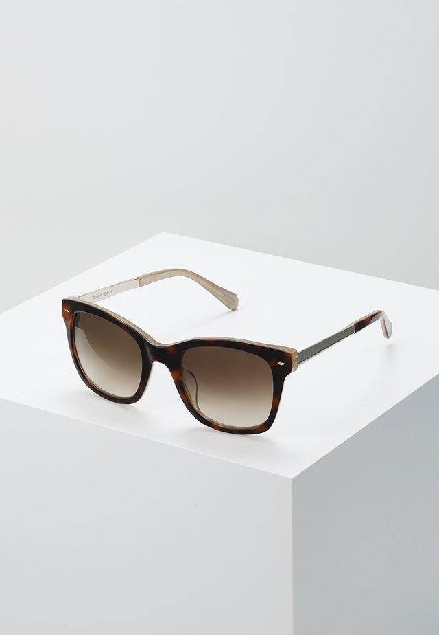 Solbriller - havanbeig