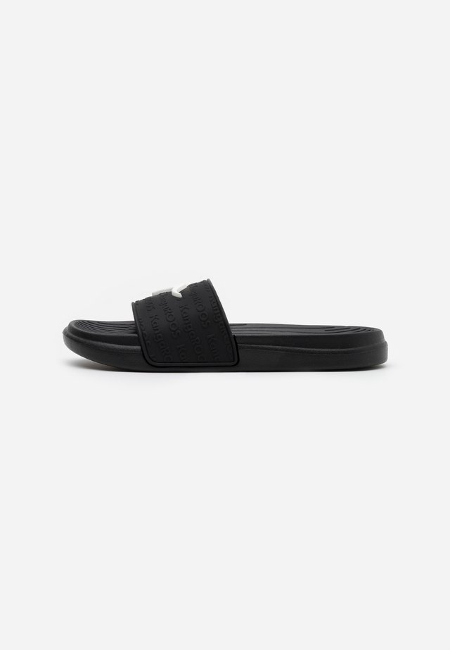 KANGASLIDE - Pool slides - jet black