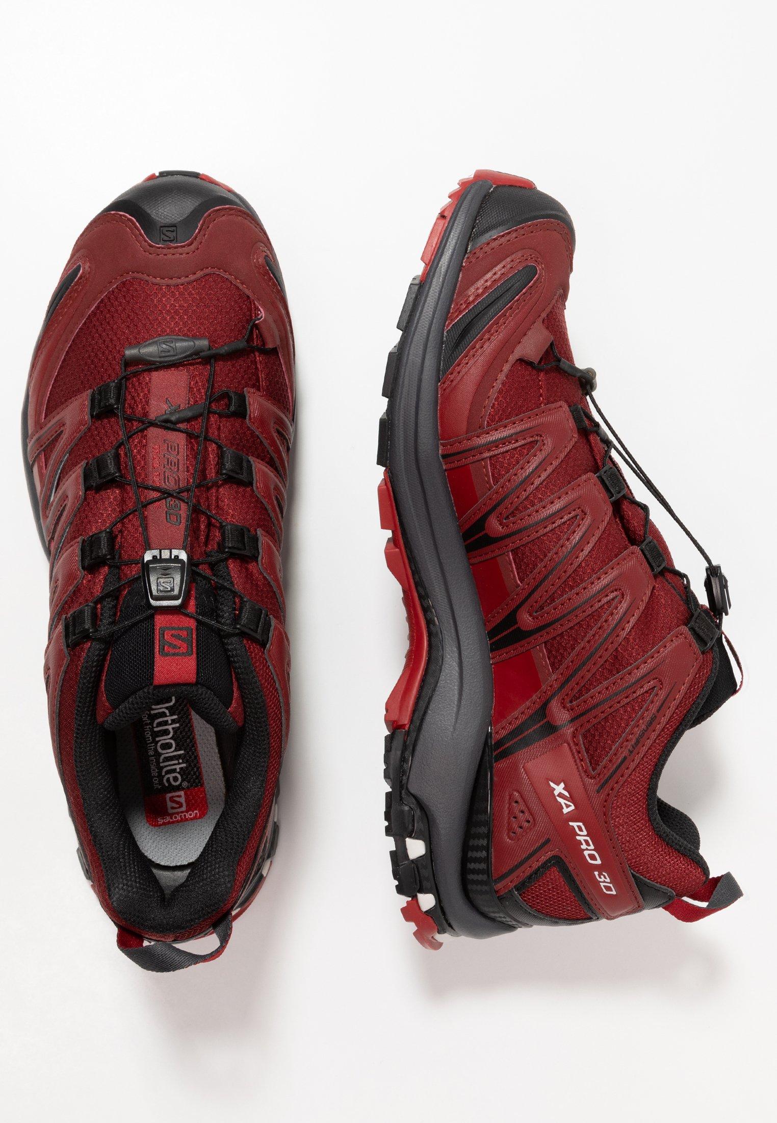 xa pro 3d laufschuh trail red