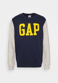 GAP - FAMILY MOMENT CREW - Sweatshirt - navy uniform - 4