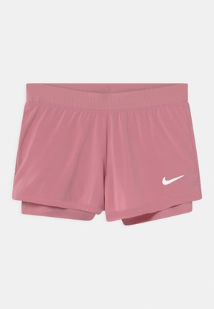 Sports shorts - elemental pink/white
