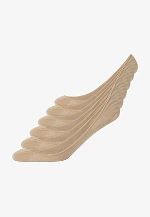 BALLERINA - Trainer socks - beige