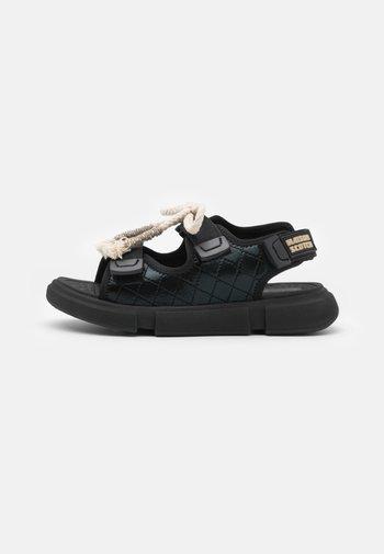 DAISIE SPORT - Sandals - schwarz