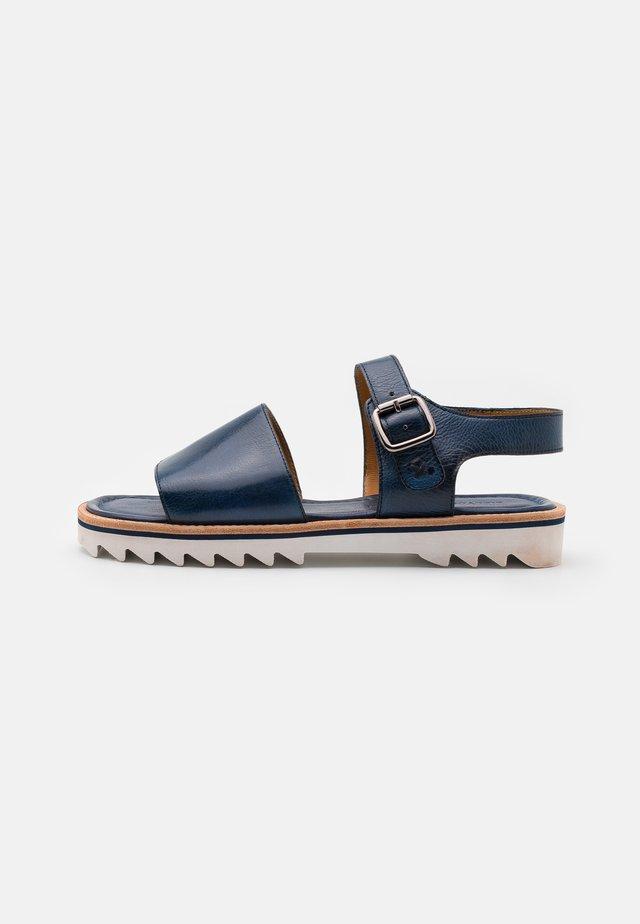 Sandals - navy/rich tan/white/navy