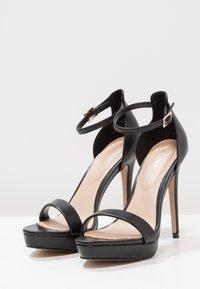ALDO - MADALENE - Korolliset sandaalit - black - 2