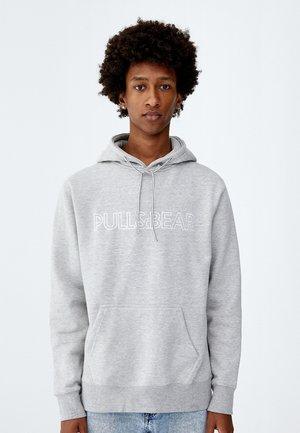 Felpa con cappuccio - light grey