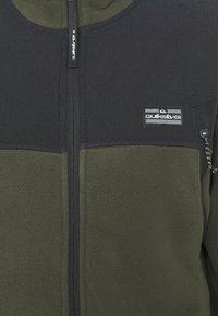 Quiksilver - LOST LATITUDE - Fleece jacket - forest night - 6