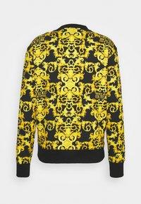 Versace Jeans Couture - LOGO BAROQUE  - Sweatshirt - black - 8