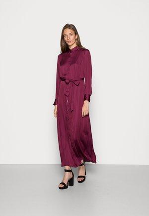 ESSENTIAL DRESS  - Maxi dress - crystal claret