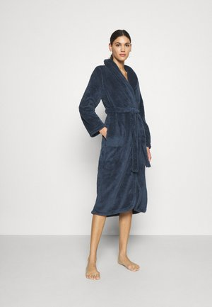 ROBE LONG SNUGGLE - Dressing gown - dark denim