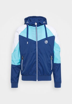 KETO TECH - Windbreaker - dark blue/aqua