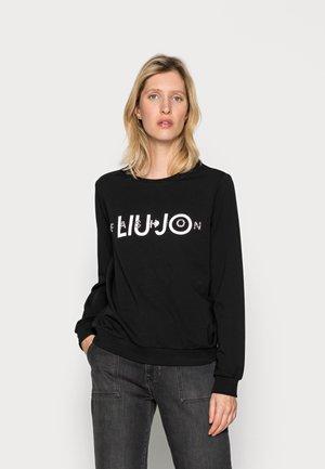 FELPA CHIUSA - Sweatshirt - nero