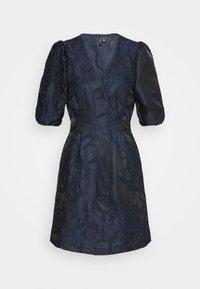 Vero Moda Petite - VMJACARLA SHORT DRESS - Sukienka koktajlowa - night sky - 0