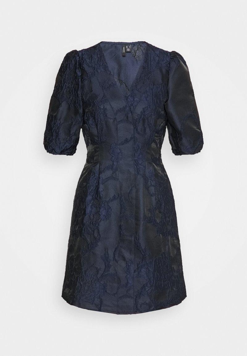 Vero Moda Petite - VMJACARLA SHORT DRESS - Sukienka koktajlowa - night sky