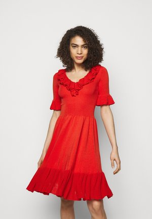 DRIBBLING ABITO - Jumper dress - red