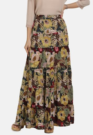 ROCK - Maxi skirt - flower print