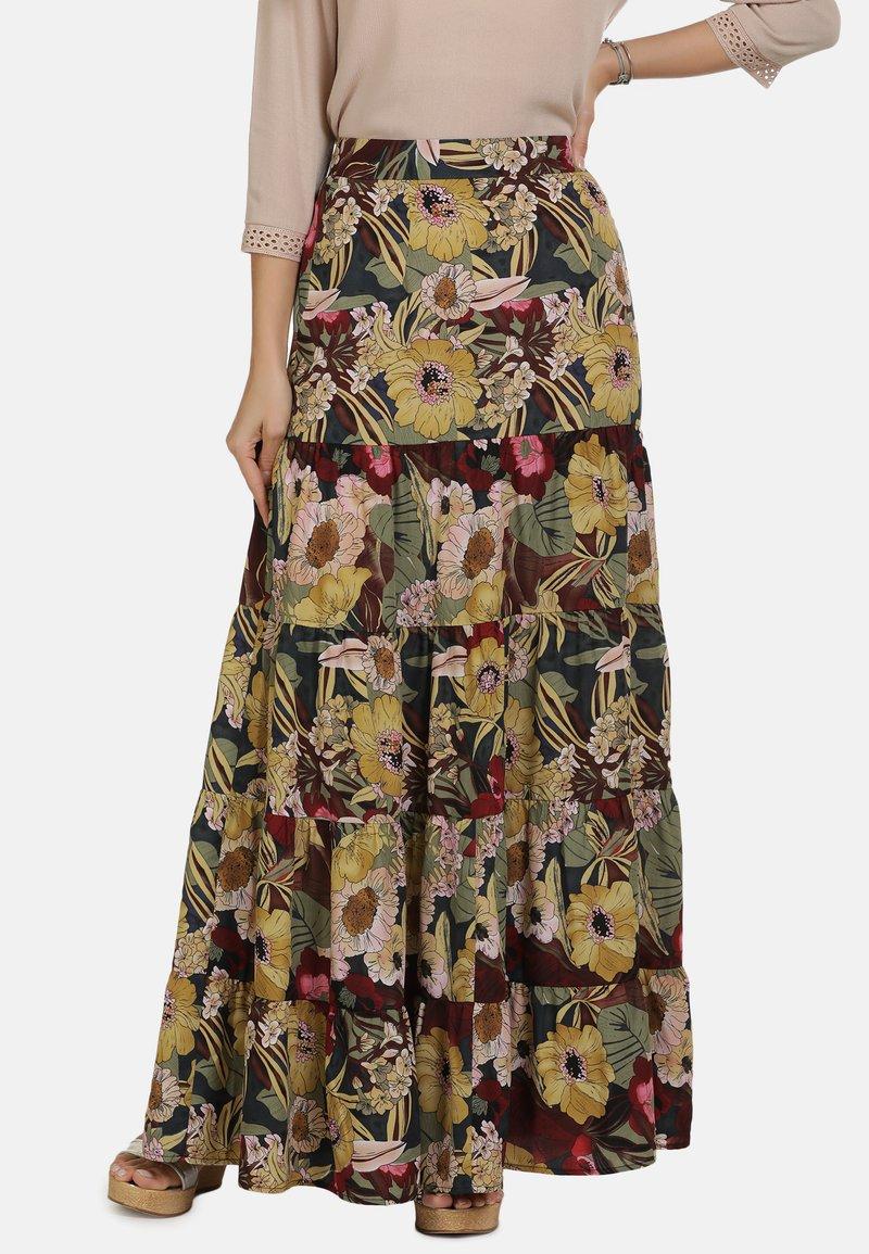 usha - ROCK - Maxi skirt - flower print
