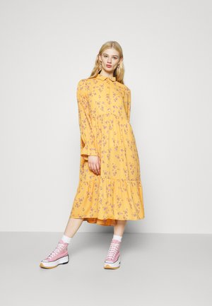 PARLY DRESS - Skjortekjole - yellow medium
