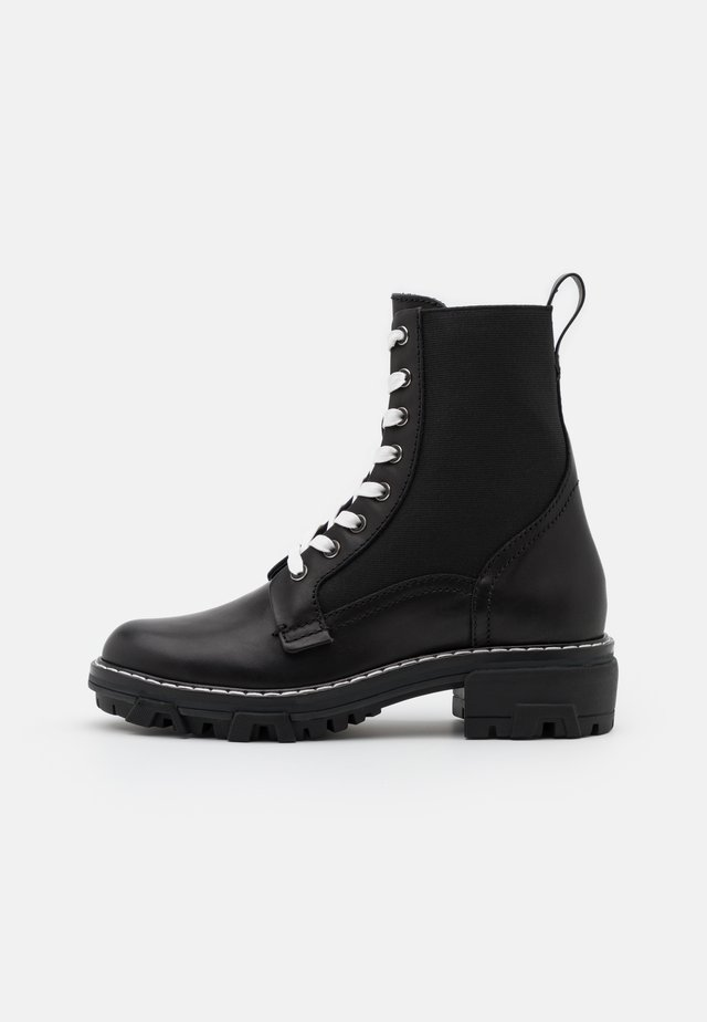 SHILOH - Lace-up ankle boots - black