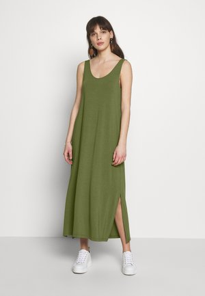 TESLA - Maxi dress - olive