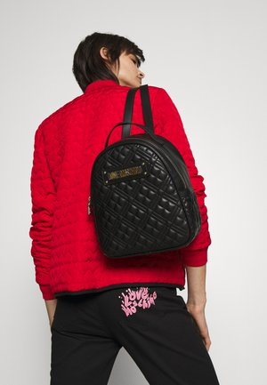 QUILTED TOP HANDLE BACKPACK - Batoh - nero