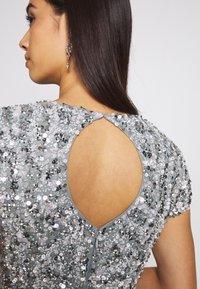 Lace & Beads - NINETTE - Bluser - teal - 3