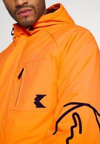 Karl Kani - SIGNATURE PADDED UTILITY JACKET - Winter coat - orange - 6