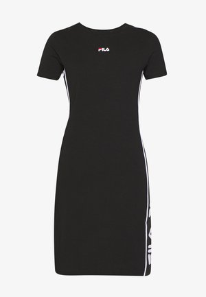 TANIEL TEE DRESS - Jersey dress - black
