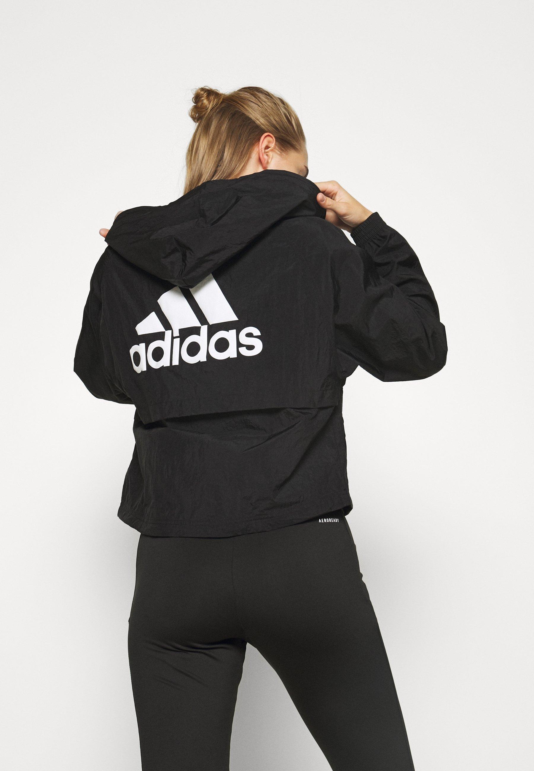 adidas Performance JACKET Trainingsjacke black