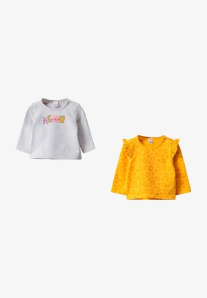 2 PACK - Long sleeved top - yellow