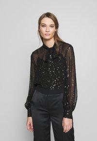 KARL LAGERFELD - Button-down blouse - black - 0