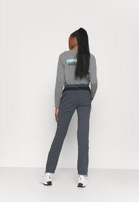 Campagnolo - WOMAN PANT - Outdoorové kalhoty - titanio - 2