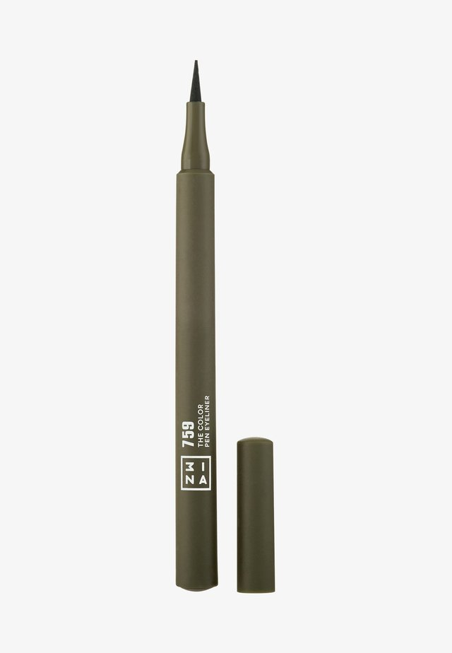 THE COLOR PEN EYELINER  - Eyeliner - 759 dark green