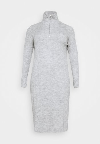 ZIP NECK DRESS