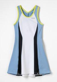 Head - FIONA DRESS  - Sports dress - white/yellow - 0