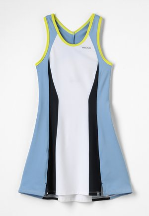 FIONA DRESS  - Sports dress - white/yellow