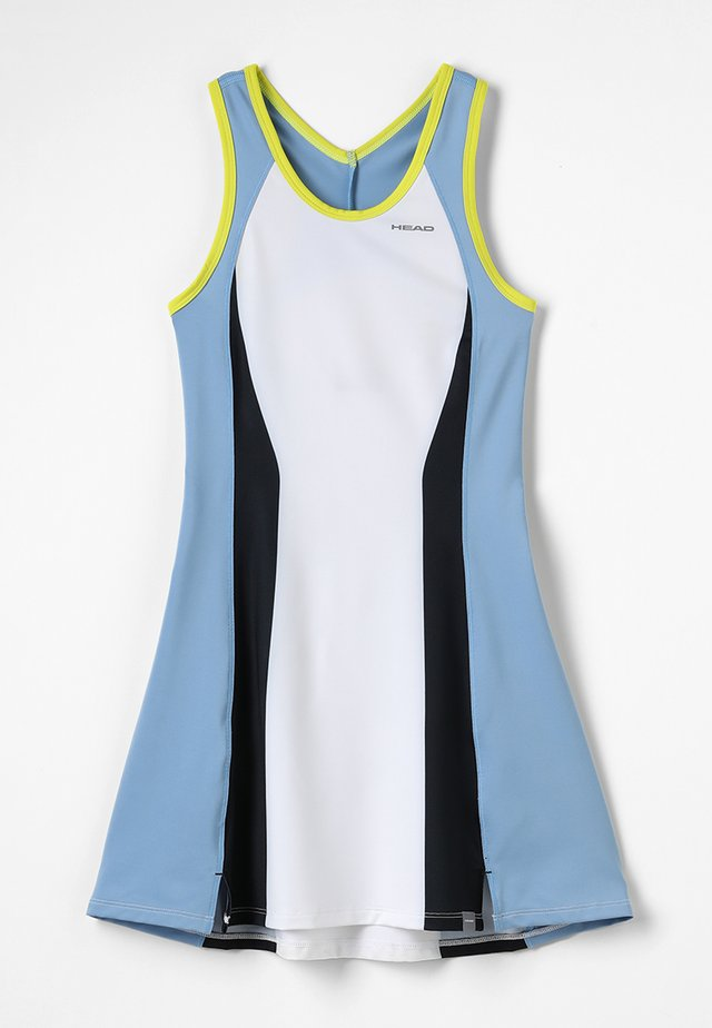 FIONA DRESS  - Sukienka sportowa - white/yellow