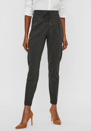 VMEVA  - Trousers - dark grey melange