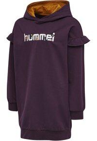 Hummel - AIKO - Jersey dress - blackberry wine - 4