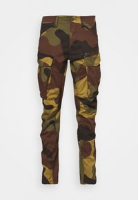 ROVIC ZIP TAPERED - Cargo trousers - wood