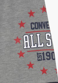 Converse - COLORBLOCK ALL STAR - Tracksuit bottoms - grey heather - 4