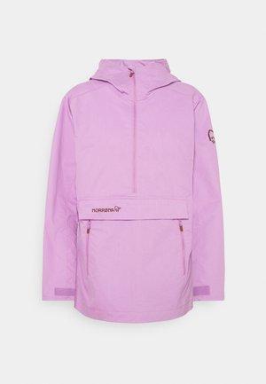 SVALBARD ANORAK - Windjack - violet tulle